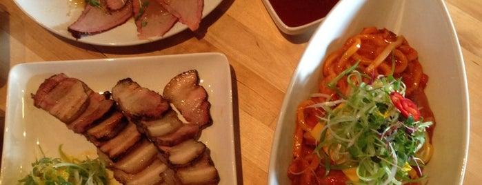 Kimchi Stylish Korean Kitchen is one of Lugares favoritos de Debbie.