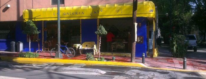 La Galería Café is one of Tempat yang Disukai Mayita.