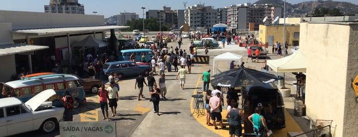 Estacionamento is one of places to go.