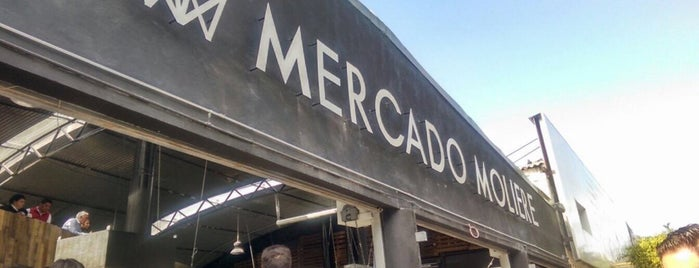 Mercado Molière is one of Lugares guardados de Aline.