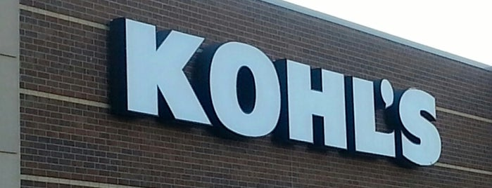 Kohl's is one of Fun w Friends.