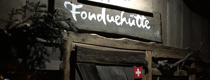 Schwarze Heidi Fondue Hütte is one of Lugares guardados de Anechka.