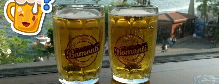 Brasserie Bomonti Ortaköy is one of Tempat yang Disimpan Gülcan.