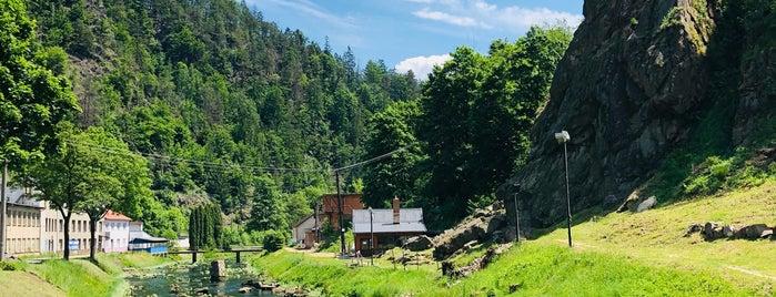Ledová stěna Vír is one of Via Ferrata (Czech).