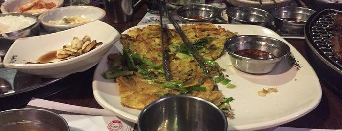 Magal Korean BBQ, MapoGalmaegi is one of Lieux qui ont plu à vanessa.