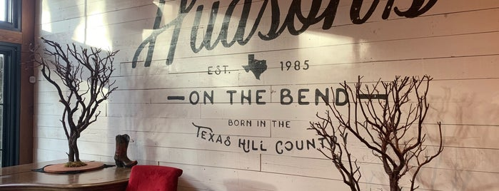 Hudson's Hill Country is one of Austin - James.