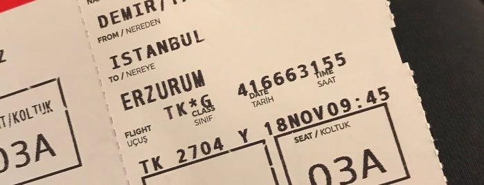 Turkish Airlines Lounge Domestic is one of Girit'in Beğendiği Mekanlar.