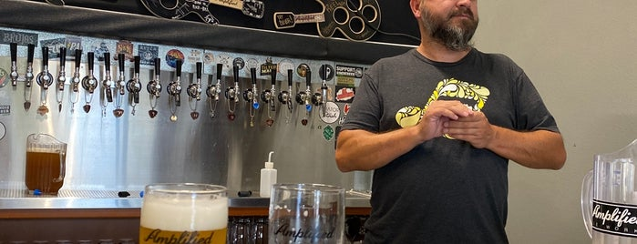 Amplified Ale Works Tasting Room is one of San Diego.