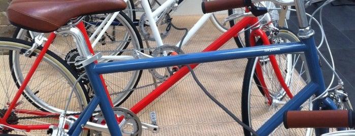 Tokyo Bike is one of Syd.