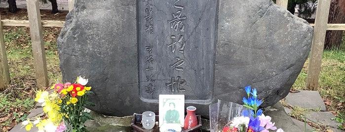 土方歳三最期の地 is one of Tempat yang Disukai 重田.
