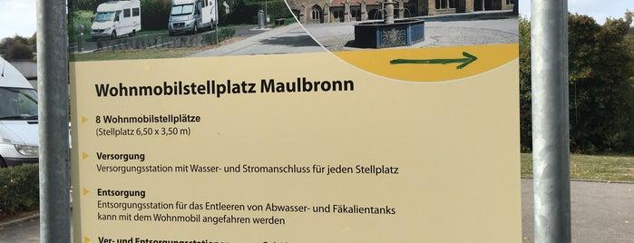 Wohnmobilstellplatz Maulbronn is one of Stellplätze für Wohnmobile.