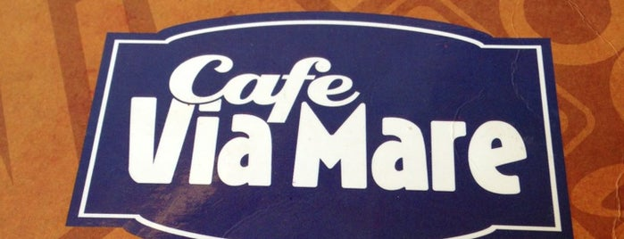 Cafe Via Mare is one of Locais curtidos por Shank.