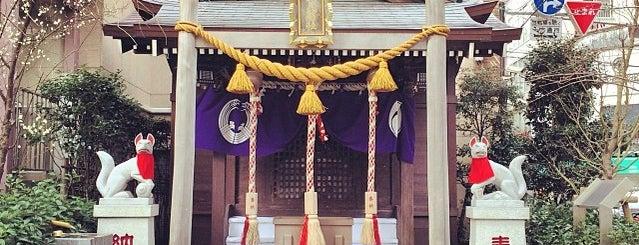 茶ノ木神社 is one of 箱崎、あるいは日本橋〇〇町.