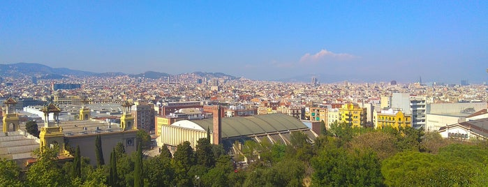 Palece of Montjuic - Barcelona is one of Andrey : понравившиеся места.