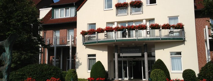 Steigenberger Hotel Treudelberg is one of Hotels I´ve visited.