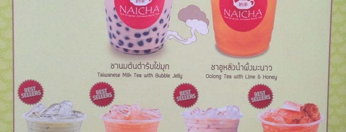 Naicha (หนายฉ่า) 奶茶 is one of BKK_Tea/ Chocolate/ Juice Bar.