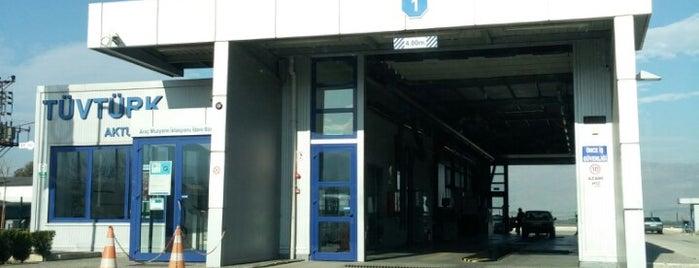 TÜVTÜRK Araç Muayene İstasyonu is one of themaraton.