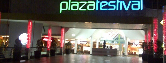 Plaza Festival is one of Where to Eat in Jakarta.