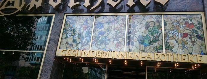 Gesundbrunnen-Apotheke is one of All-time favorites in Germany.