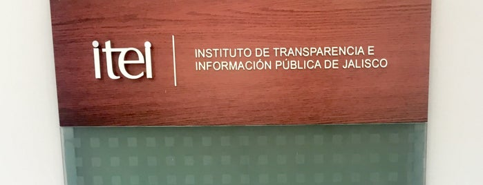 Instituto de Transparencia e Información Pública de Jalisco is one of Marteeno'nun Beğendiği Mekanlar.