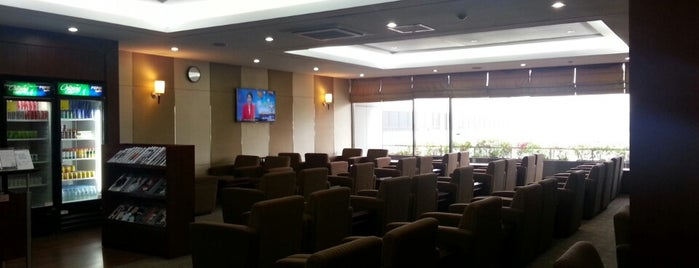 Asiana Lounge is one of Ben's list for Airports.
