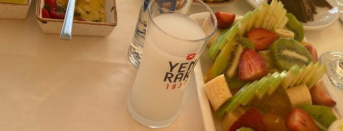 Radika Meze & Balık is one of สถานที่ที่ Perihan ถูกใจ.