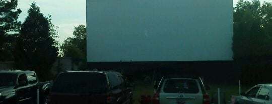 The Auto Drive In Theater is one of Saturday &Lu.