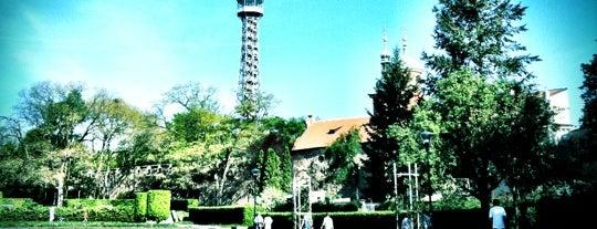 Petřínská rozhledna | Petřín Lookout Tower is one of Kam s dětmi v Praze - tipy na program pro děti.