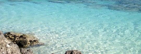 Elafonisi Beach is one of Crete.