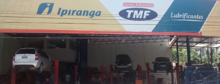 TMF Centro Automotivo is one of Vale a pena conhecer.