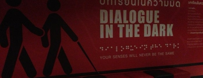 Dialogue in the Dark is one of Tempat yang Disimpan Thiago.