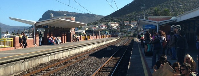 Kalk Bay Station is one of South Africa.