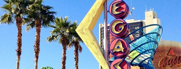 Downtown Las Vegas is one of Vegas.