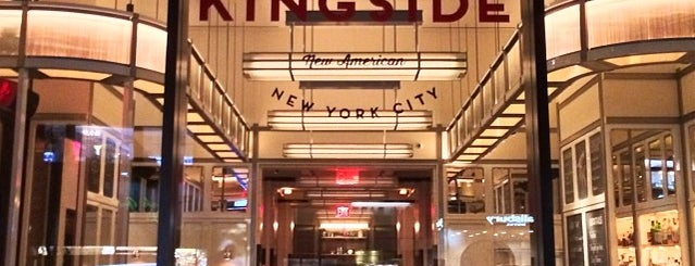 Kingside is one of Manhattan restaurants - uptown.