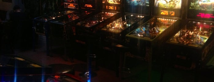 """Coffeeshop """"The Spirit"""" is one of Pinball Destinations."""