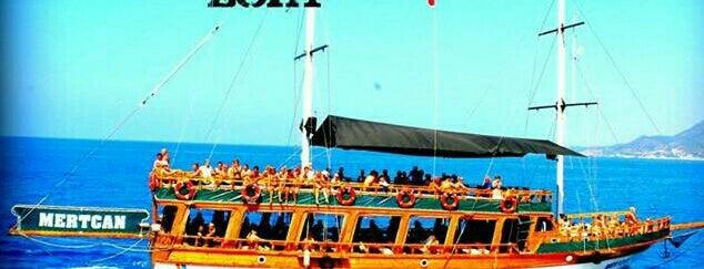 mertcan boat is one of Yunus'un Beğendiği Mekanlar.