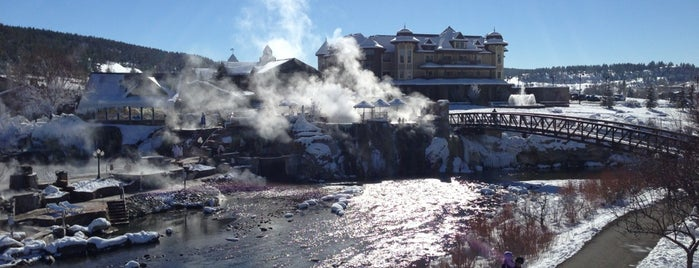 Pagosa Hot Springs is one of West Coast Sites.