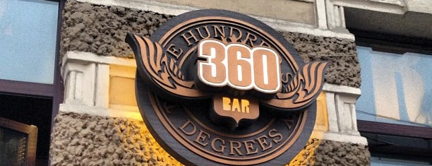 360 riders bar is one of St. Petersburg best places.