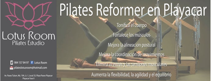 Pilates Lotus Room is one of Fitness in playa.