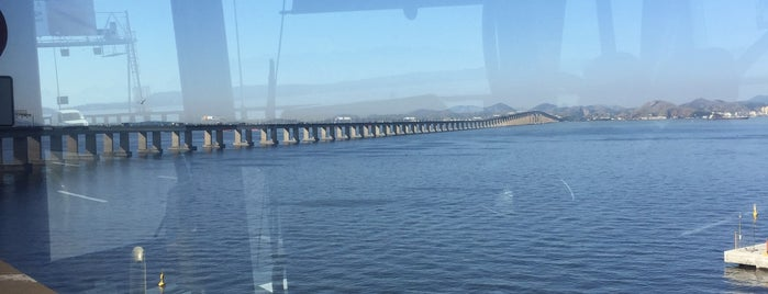 Ponte Rio-Niterói is one of Raquel : понравившиеся места.