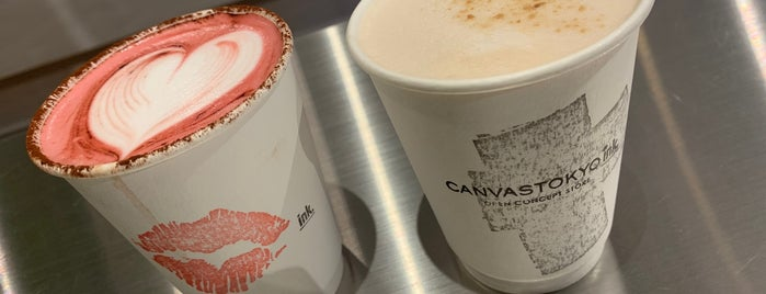 ink. By CANVAS TOKYO is one of Juha's Top 200 Coffee Places.