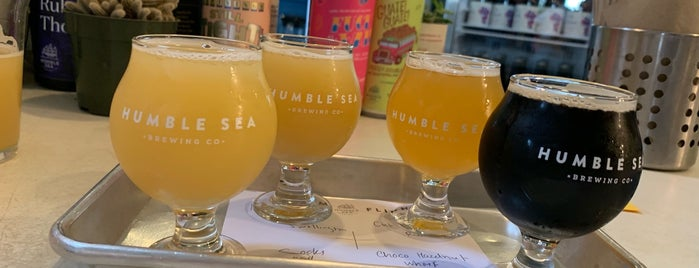 Humble Sea Brewing Co. is one of Santa Cruz awesome spots.