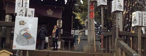 諏方神社 (諏訪神社) is one of Lieux qui ont plu à Masahiro.