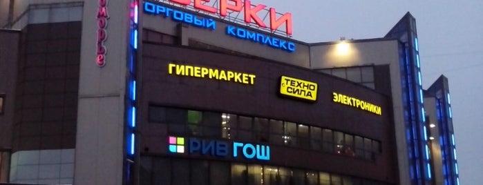 ТК «Озерки» is one of TOP-100: Торговые центры Санкт-Петербурга.