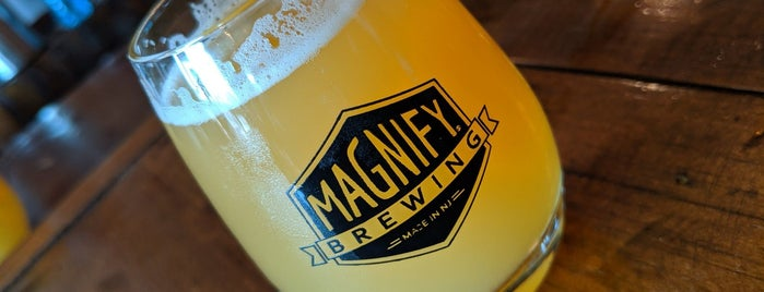 Magnify Brewing is one of Coleさんのお気に入りスポット.