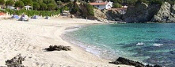 Kalamos Beach is one of Lugares guardados de Stella.