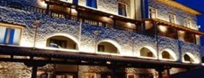Santa Marina Hotel Arachova is one of Arahova.