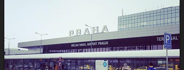Prag Václav Havel Havalimanı (PRG) is one of Official airport venues.