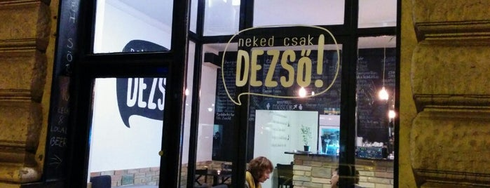 Neked Csak Dezső is one of Crafted beer.