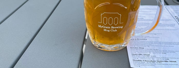 MyGrain Brewing Co. is one of Chicago area breweries.